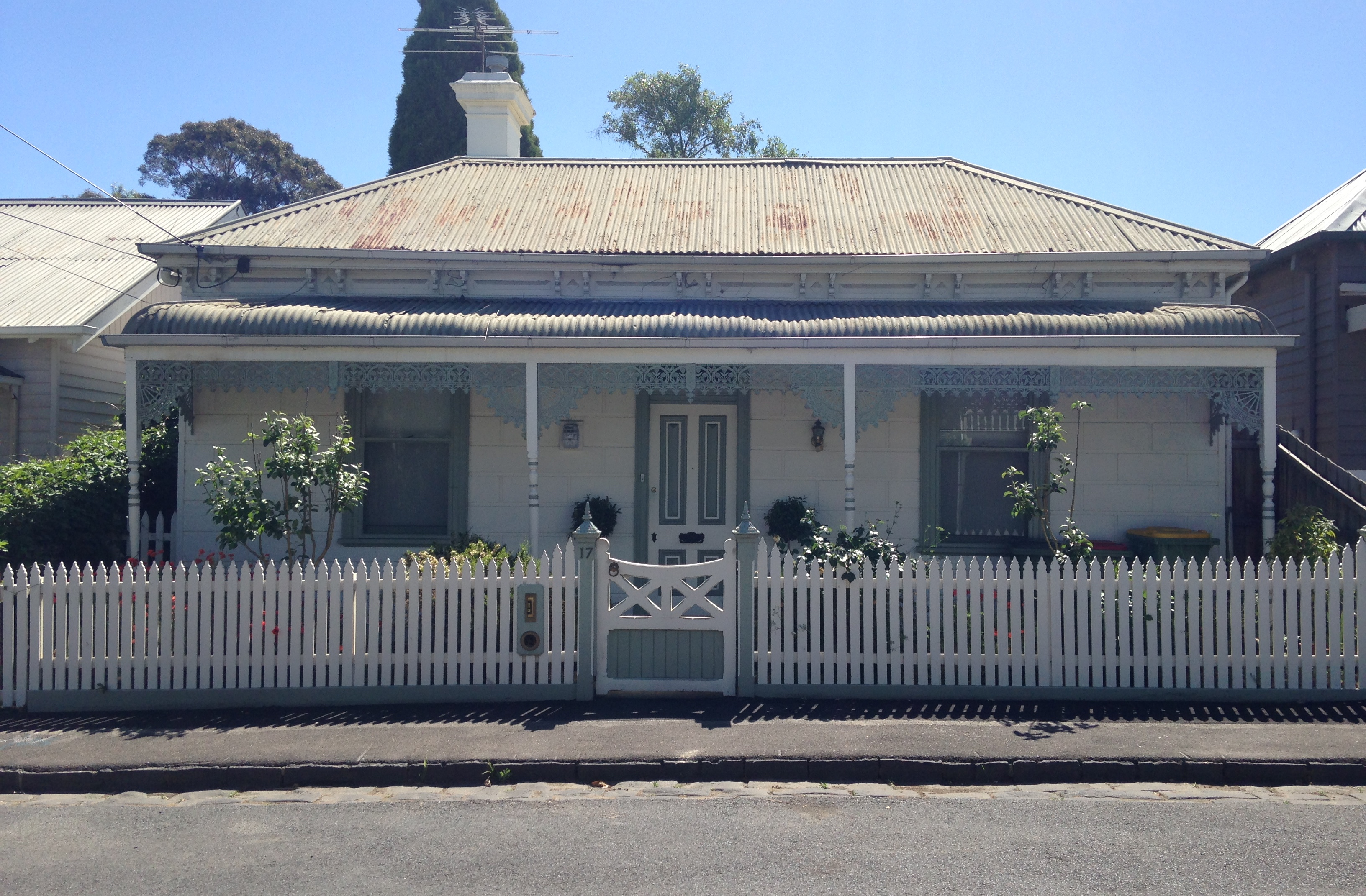 mid to late victorian house in free street yarraville - Australian Victorian Houses