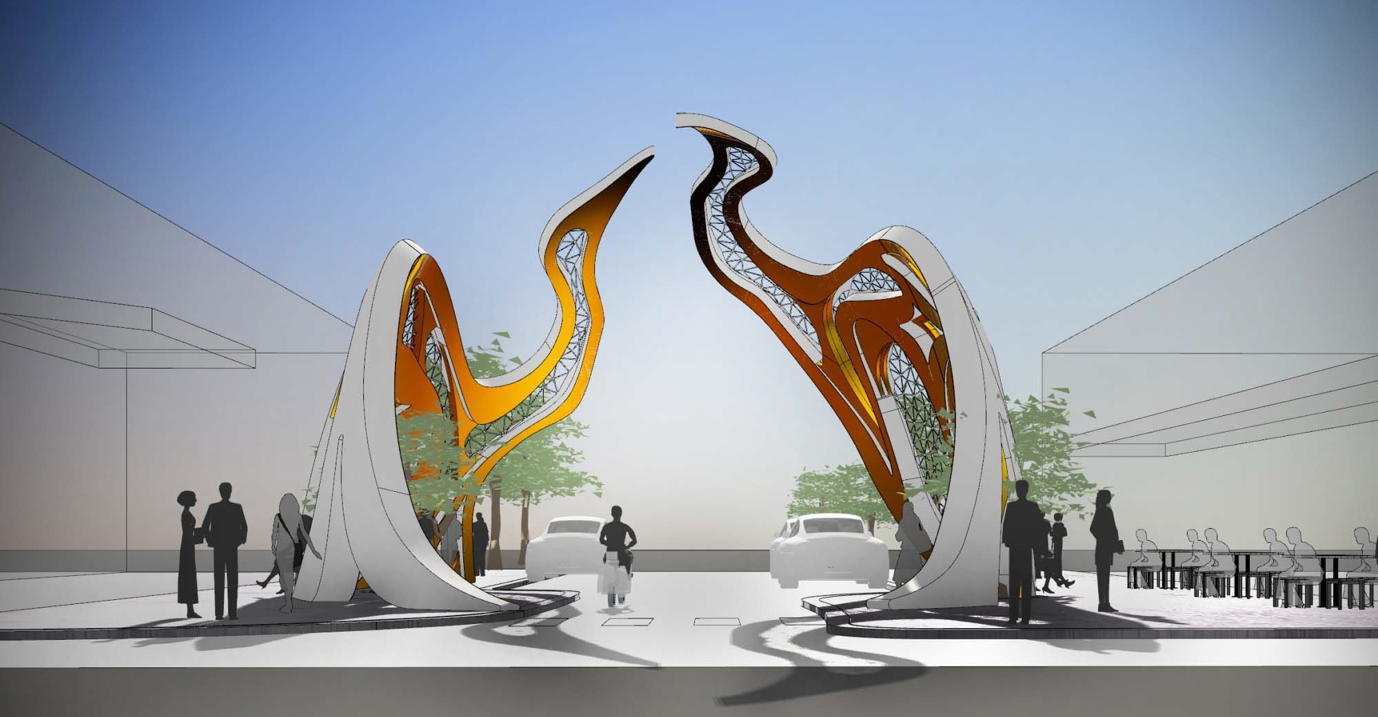 Footscrays Welcome Arch Concept Design Celebrates Vietnamese